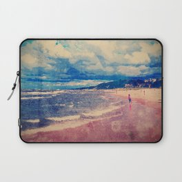A Day At The Beach Laptop Sleeve