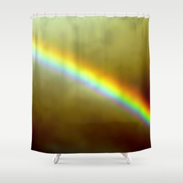 in rainbows Shower Curtain
