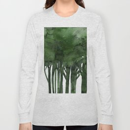 Tree Impressions No.1C by Kathy Morton Stanion Long Sleeve T-shirt
