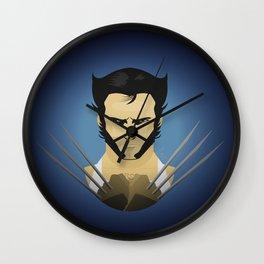 Hugh Jackman (wolvie) Wall Clock