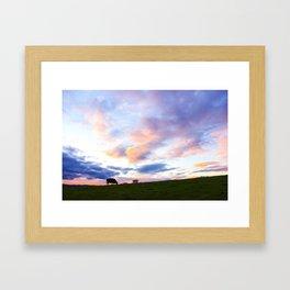 Sonoma County Sunset Framed Art Print