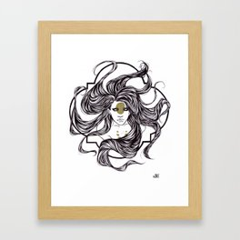 Clover Framed Art Print