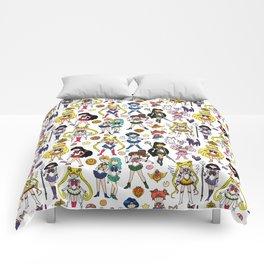 Kawaii Sailor Senshi Doodle Comforters