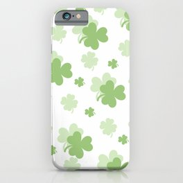 Clover Leaves iPhone Case