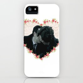 Hearted Sheriarty iPhone Case