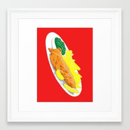 Fish, 2013. Framed Art Print