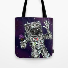 In Space No One Can Hear You Scream For Ice Cream Tote Bag