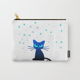 Snow Cat Carry-All Pouch