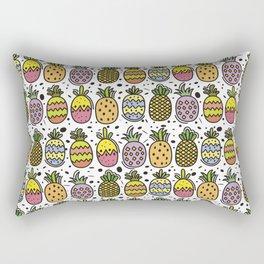 Crazy Pineapples Rectangular Pillow