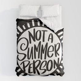 Not A Summer Person Comforters