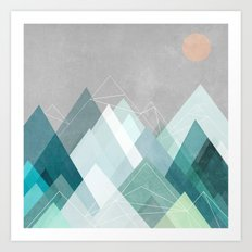 Graphic 107 X Art Print