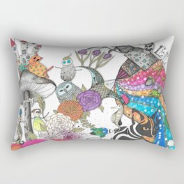 Flowers II Rectangular Pillow