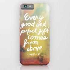 James 1:17 iPhone 6 Slim Case