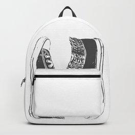 "Fashion Modern Design Print ""Sneakers""! Hip hop gangster style Backpack"