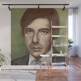 Leonard Cohen Wall Mural