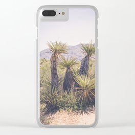 Morning in Joshua Tree Clear iPhone Case
