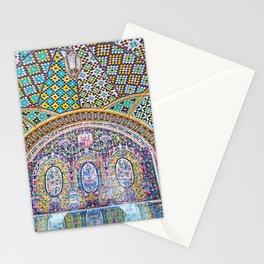 Karim Khani Nook of Golestan in Tehran, Iran Stationery Cards