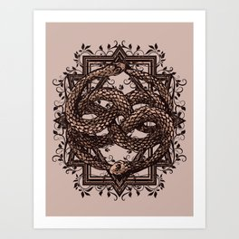 Life Is A NeverEnding Story Art Print