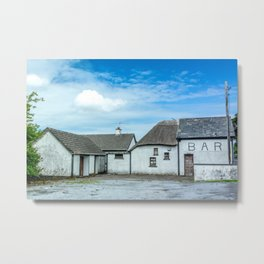 The Irish Bar Metal Print