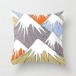 Away in the mountains Throw Pillow