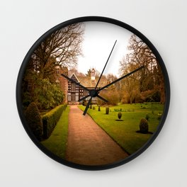 Country Home Goals Wall Clock