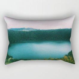 The Lake of the Living Spirals Rectangular Pillow