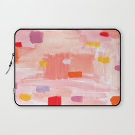 Put Sorrows In A Jar - abstract modern art minimal painting nursery Laptop Sleeve