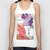 mlp Tank Tops featuring MLP Comic by Pachiiri