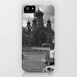 Cathedral of St. Mary Magdalene in Warsaw iPhone Case