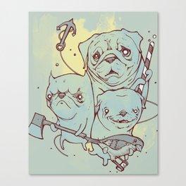 Sea Dogs Canvas Print