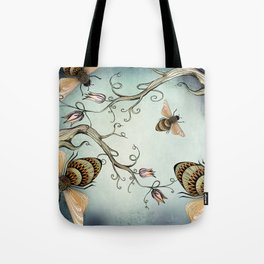all the buzz Tote Bag