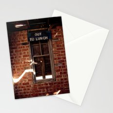 Out to Lunch Stationery Cards
