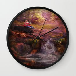 ..My Favourite Spot Wall Clock