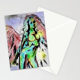 Angel, earth elemental Stationery Cards