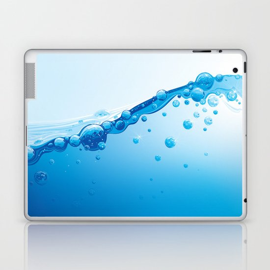 Full of Water Laptop & iPad Skin
