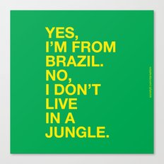 From Brazil III Canvas Print