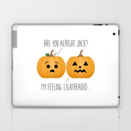 Lightheaded Jack-O-Lantern Laptop & iPad Skin