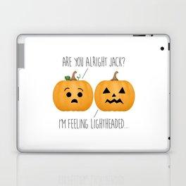 Lightheaded Jack-O-Lantern Laptop & iPad Skin
