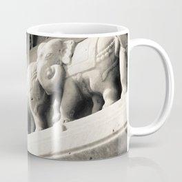 Elephants on the Temple Coffee Mug