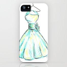 Sky Dress iPhone Case