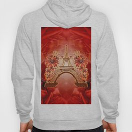 The eiffel tower with flowers Hoody