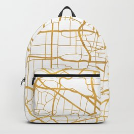 ST. LOUIS MISSOURI CITY STREET MAP ART Backpack