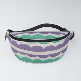 Mordidas Retro Grapes Fanny Pack