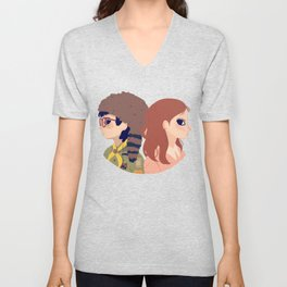 Sam and Suzy Unisex V-Neck
