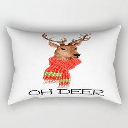 Oh Deer Rectangular Pillow