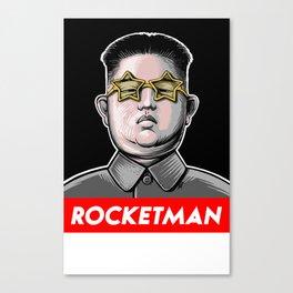 Rocket Man Kim Jong Un Canvas Print