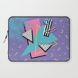 Memphis Pattern 57 - 80s - 90s Retro / 2nd year anniversary design Laptop Sleeve