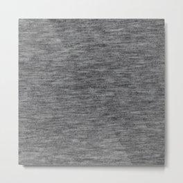 Athletic grey shirt pattern Metal Print