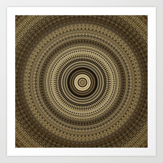 CenterViewSeries253 Art Print