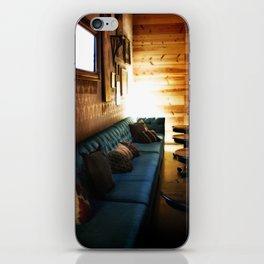 Tillmans Turquoise Couch iPhone Skin